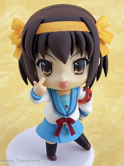 Haruhi Suzumiya, Nendoroid [009] - Nendoroid 09 Melancholy of Haruhi Suzumiya Haruhi Suzumiya pvc figure