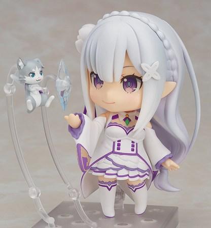 Nendoroid #751 Emilia Re Zero Starting Life in Another World