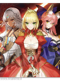 Fate/Extella - Nero, Tamamo, Altera - Fate/Extella: The Umbral Star