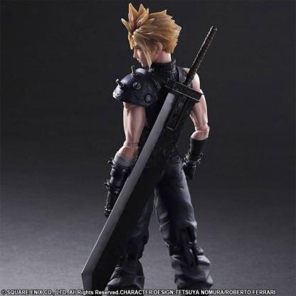 Final Fantasy VII Remake action figure