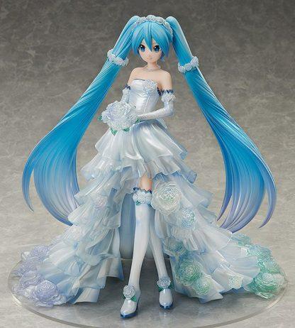 Hatsune Miku figuuri Wedding Dress ver - Freeing 1/7 scale
