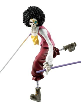 One Piece: Stampede - Brook Ichibansho Figuuri