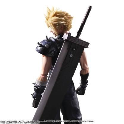 Final Fantasy Remake - Cloud Strife ver. 2 figuuri