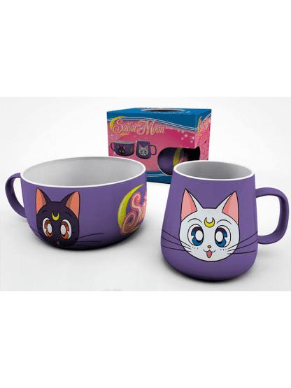 Sailor Moon - Luna & Artemis aamiaissetti