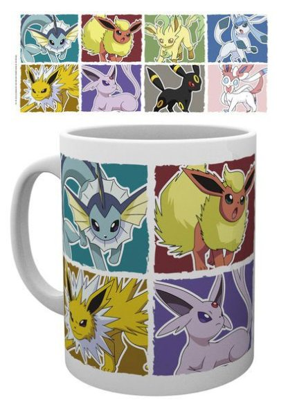 Pokemon - Eevee Evolution muki
