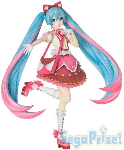 Hatsune Miku Ribbon Heart figuuri