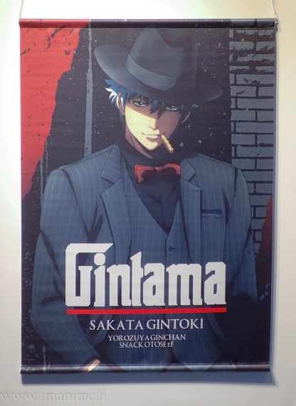 Gintama Wall Scroll - Gintoki Noir ver