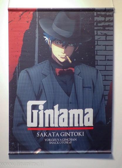 Gintama Wall Scroll - Gintoki Noir ver