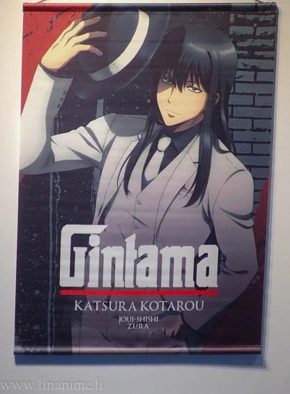 Gintama Wall Scroll - Katsura Noir ver