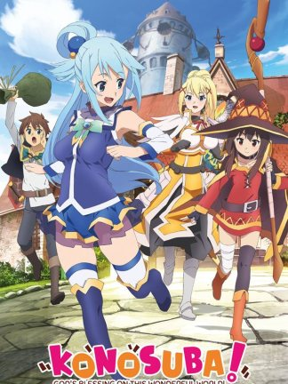 Konosuba Key Art Juliste