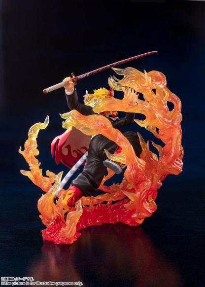 Kimetsu no Yaiba: Demon Slayer - Kyojuro Rengoku figuuri, Flame Breathing