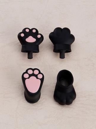 Nendoroid Doll Animal Hands Parts Set - Musta