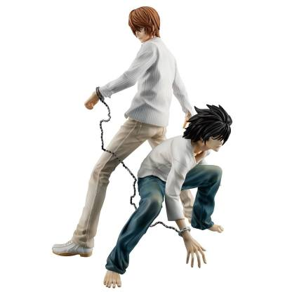 Death Note - Yagami Light & L figuuri