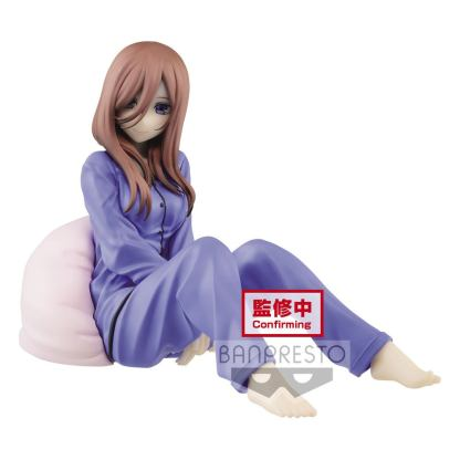 The Quintessential Quintuplets - Miku Nakano figuuri, Pyjama ver