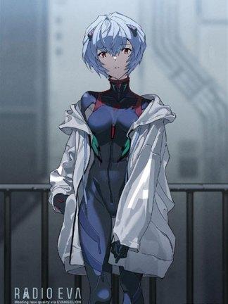 Evangelion - Rei Ayanami palapeli