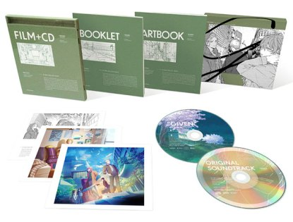 Given Movie DVD + OST CD Limited Production Edition