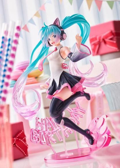 Hatsune Miku Birthday Happy Cat ver figuuri