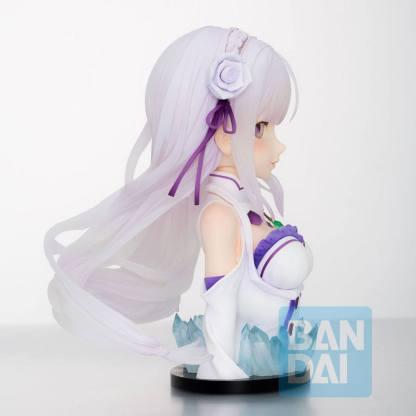 Re:Zero – Emilia Bust Ichibansho figuuri