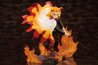 Kimetsu no Yaiba: Demon Slayer - Kyojuro Rengoku figuuri, Bonus Edition