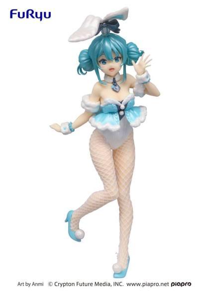 Hatsune Miku Vocaloid BiCute White Rabbit Pearl Color ver figuuri