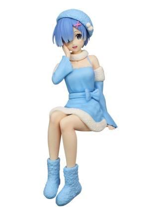 Re:Zero - Rem Snow Princess Noodle Stopper figuuri