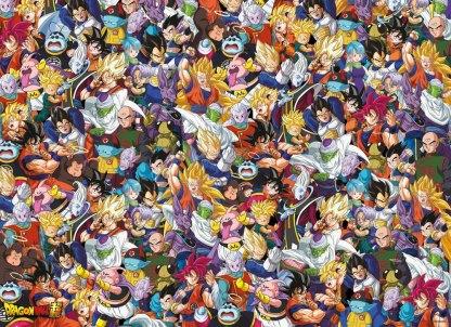 Dragon Ball Super Impossible Palapeli