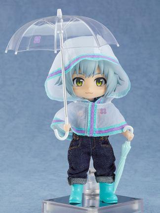 Nendoroid Doll Outfit Set – Rain Poncho, White