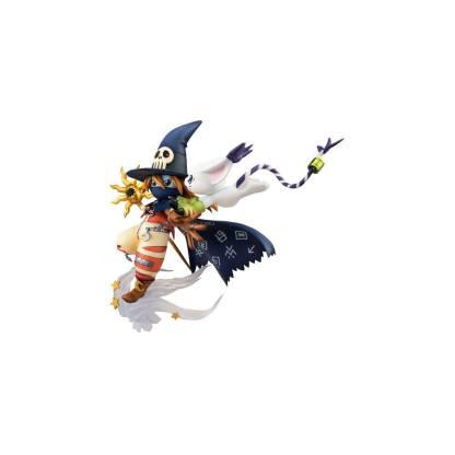 Digimon Adventure - Wizardmon & Tailmon figuuri