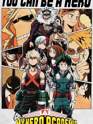 My Hero Academia: Boku no Hero Academia - You Can Be a Hero juliste