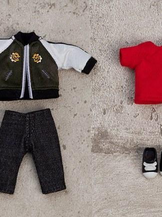 Nendoroid Doll Outfit Set Souvenir Jacket - Black