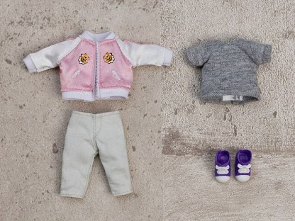 Nendoroid Doll Outfit Set Souvenir Jacket - Pink