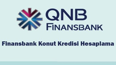 Finansbank Konut Kredisi Hesaplama