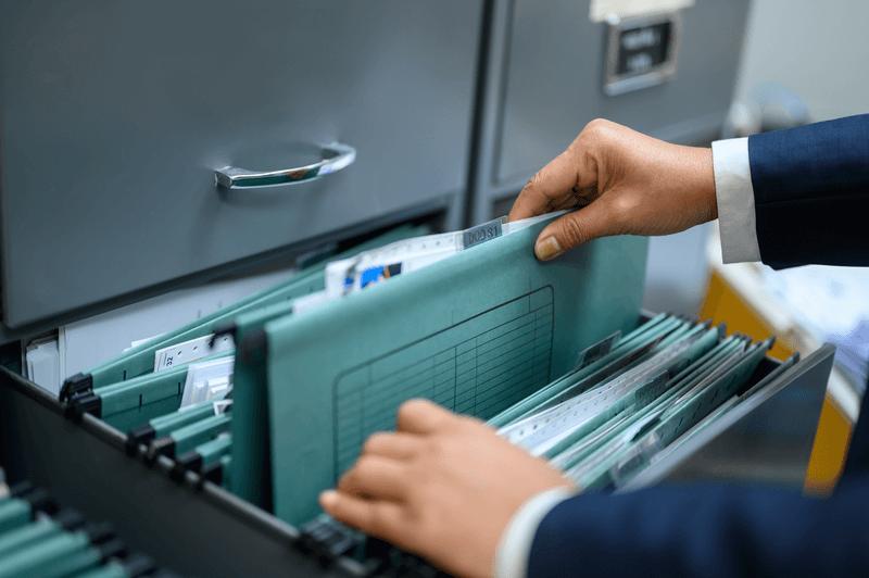 Organizar finanzas documentos