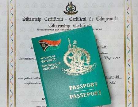 Pasaporte Vanuatu