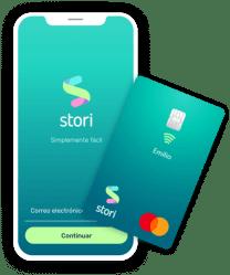 Tarjeta y App Stori
