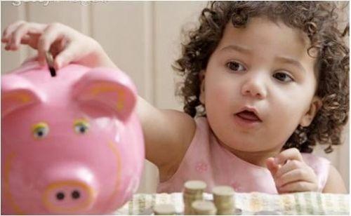 enseñar a los niños ahorrar
