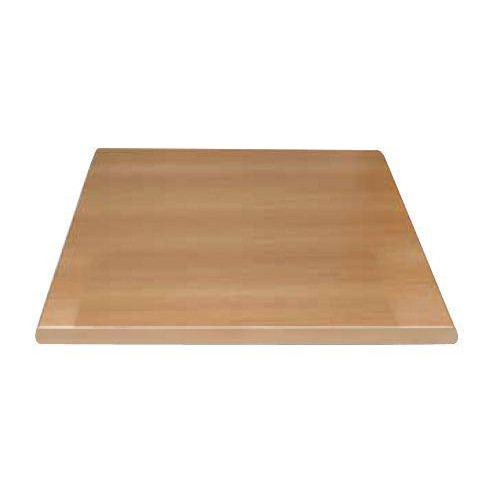 plateau de table carre hetre bolero 600 x 600 mm