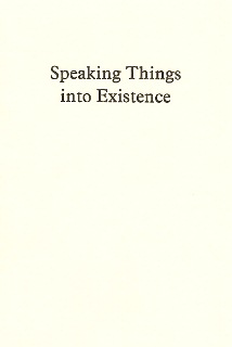 Download Speaking Things into Existence