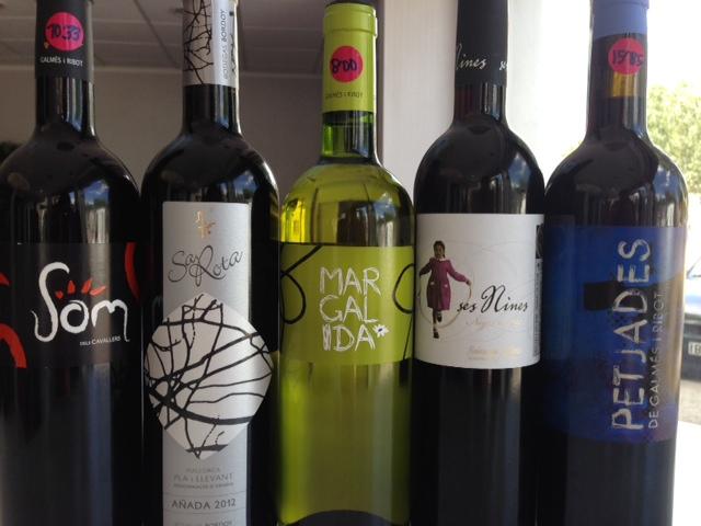 Promoción en vinos locales