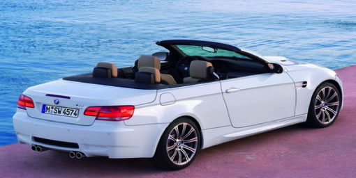 BMW CABRIO WHITE FOR WEDDINGS