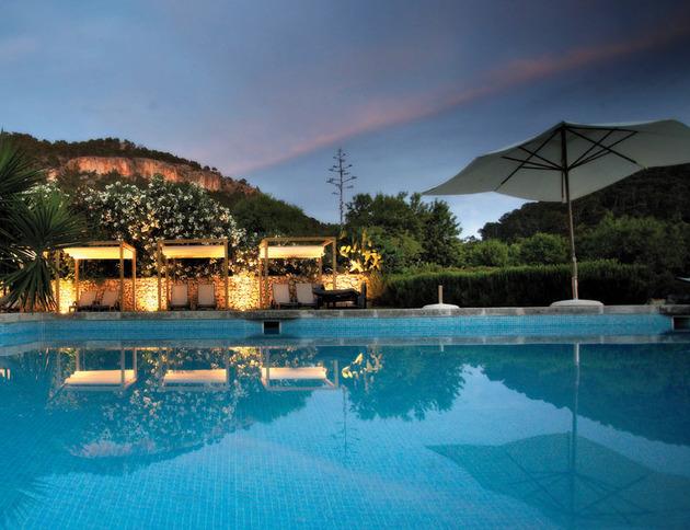 piscina finca - Finca Andratx