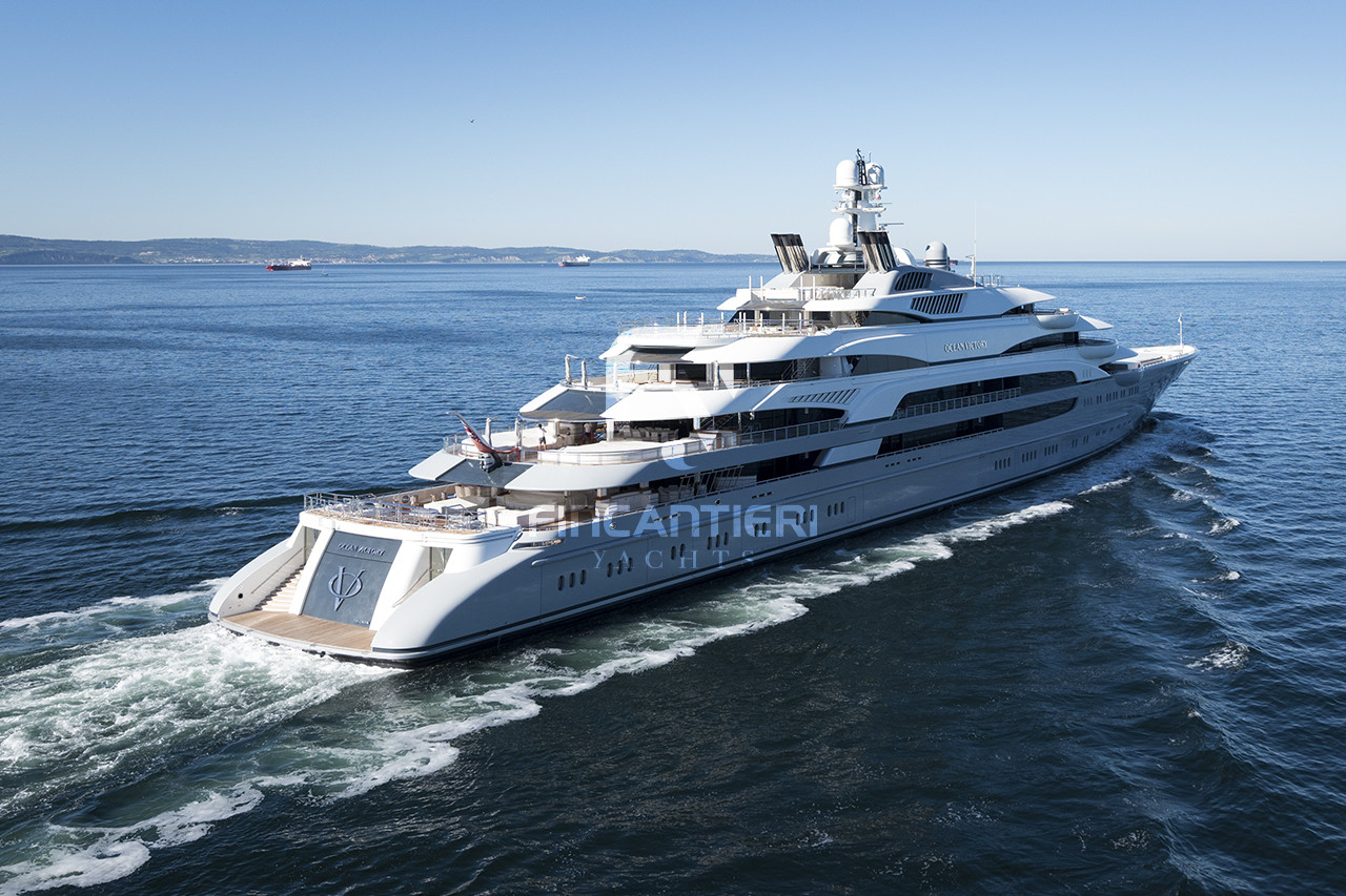 Hull 6218 Ocean Victory Products Fincantieri Yachts