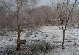 Winterlicher Ausblick 2 Weihnachtsfeiertag26.12.2014