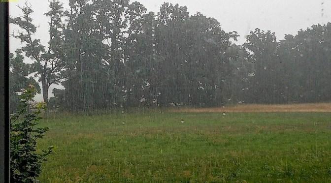 Regen, viel Regen