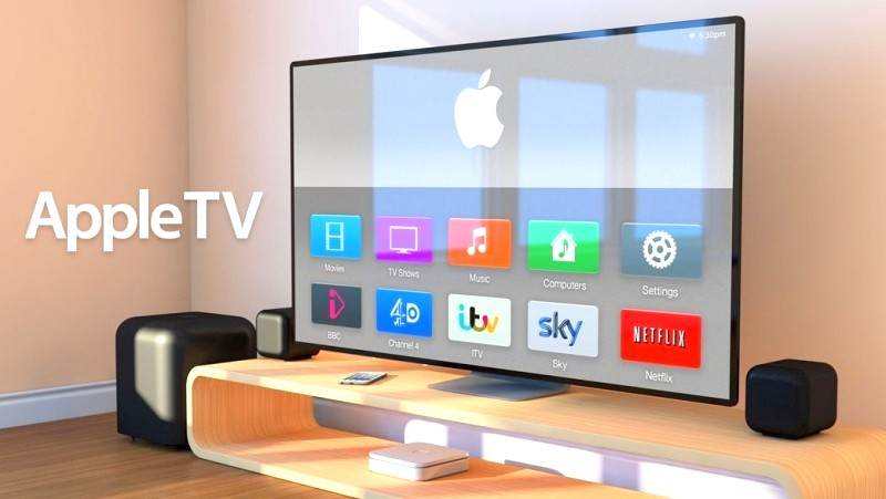 The_television_by_the_Apple_Company