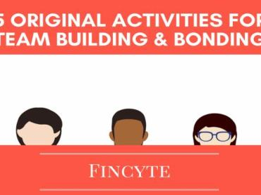 5 Original Activities for Team Building and Bonding