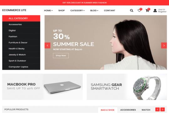 e-commerce lite