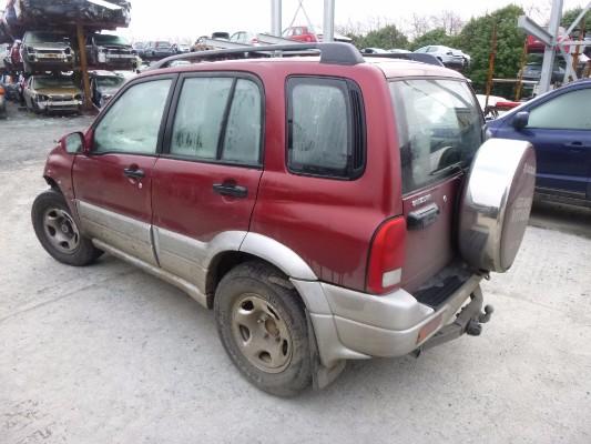 2003 Suzuki Xl7 Parts List