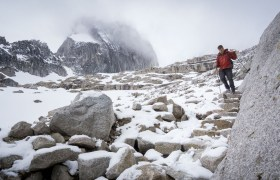 POW: Hiking in the Bugaboos