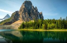POW: Sunburst Mountain Reflection